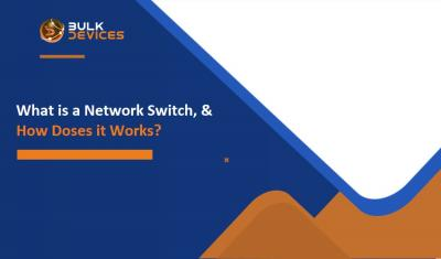 What is a Network Switch, and how does it works?
